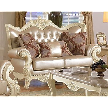 Meridian Furniture Madrid Leather Loveseat