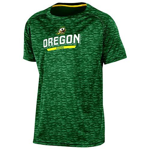 Champion (CHAFK) NCAA Oregon Ducks Youth Boys Short Sleeve Crew Neck RA Tee, Medium, Green ()