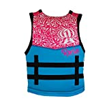 Ronix August Girl's - CGA Life Vest - Sky Blue/Pink