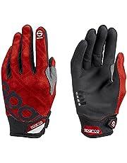 Sparco 002093RS3L Handschuhe Meca 3 Tg. Rot L,