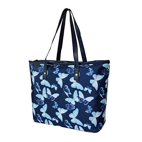 Miso , Damen Tote-Tasche Blau blau blau