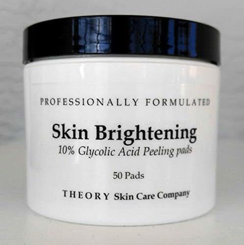 Glycolic Acid 10% - Skin Brightening Pads, 10% Glycolic Acid