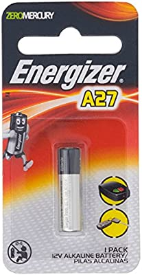 Energizer A27 27A 12V Alkaline Battery 1 Pack A27BP1 MN27