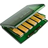Protec A250TL Bb Clarinet Reed Case for 12 Reeds, Transparent Lime