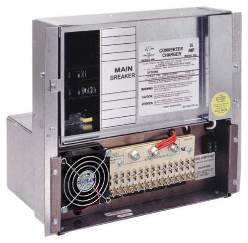 Parallax Power Supply (555) 50 Amp Power Control with 55 Amp Advanced Converter/Charger