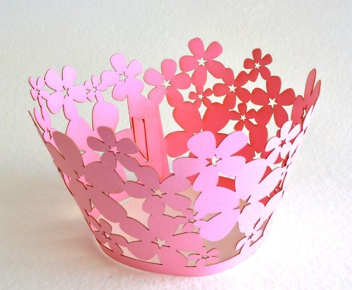 Cupcake Wrappers Cherry Blossom Pink Cherry Blossom Cupcake Wrappers