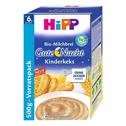 Hipp Kinderkeks buenas noches avena - a partir de 6 meses, 500 g: Amazon.es: Alimentación y bebidas