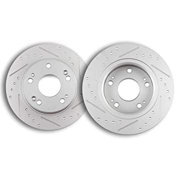 Rear Disc Brake Rotor 2PCS For 2001-2003 Acura CL