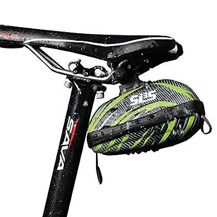 SLS3 - Sillín de bicicleta, resistente al agua, carcasa rígida, diseño alemán