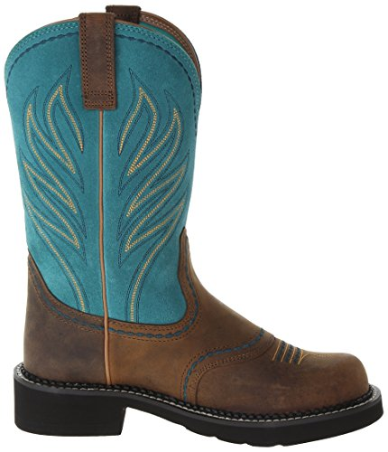 Amazon.com | Ariat Women's Probaby Flame Western Cowboy Boot | Mid ...