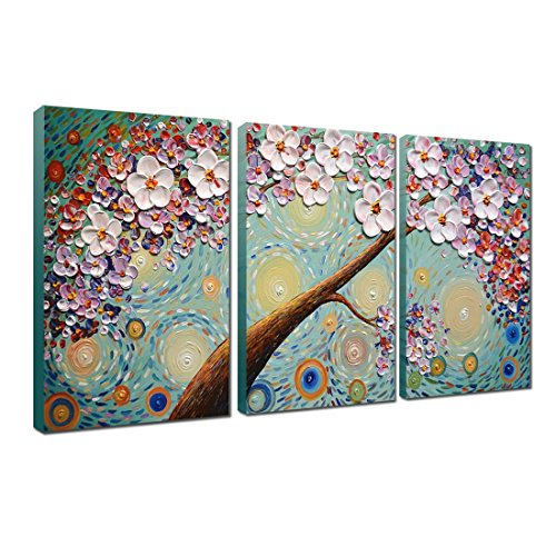 V inspire 20x30Inchx3 Paintings Hand Painted Decoration product image
