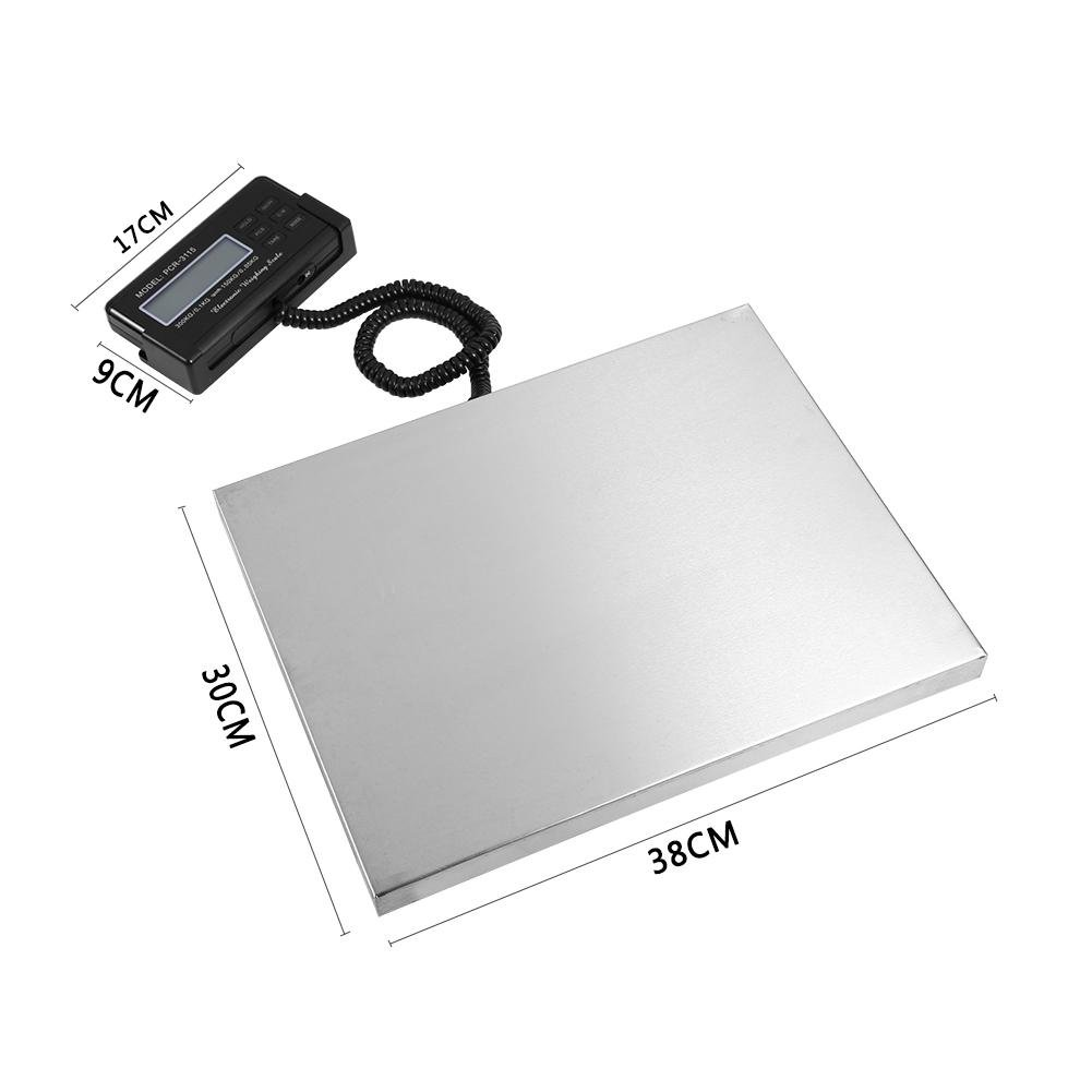A Plataforma; pesapacchi 150kg//0.05kg DE MESA Balanza Plataforma Balanza de correo postal escala B/áscula digital compacta 300/kg//0.1kg