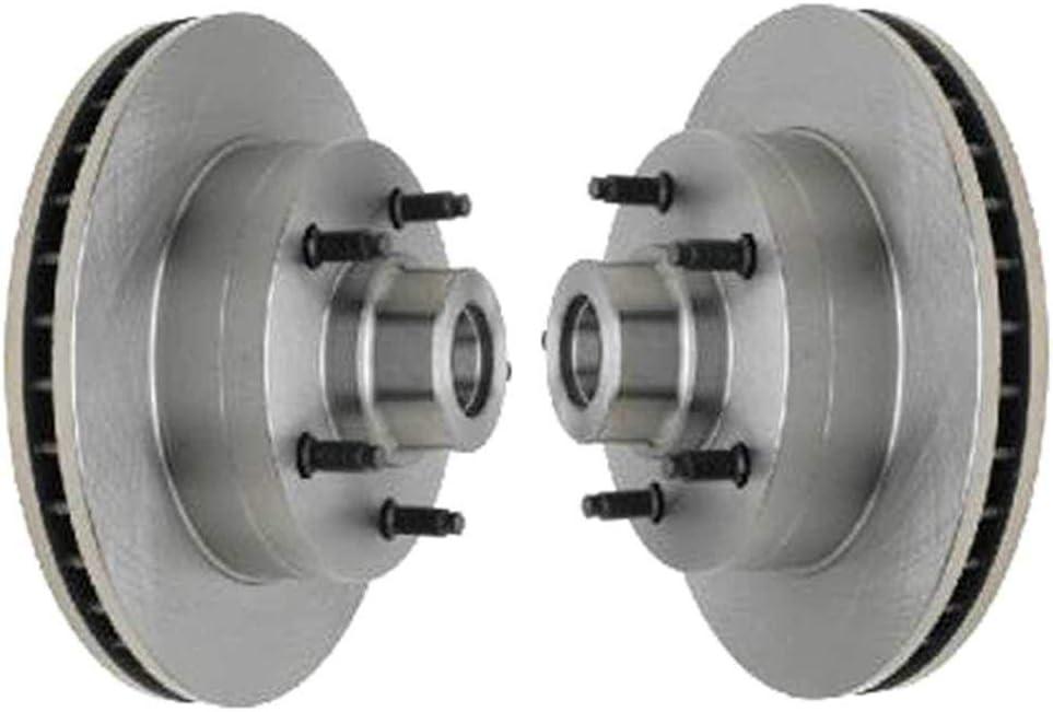 Auto Shack R6597PR Front Disc Brake Rotor Pair