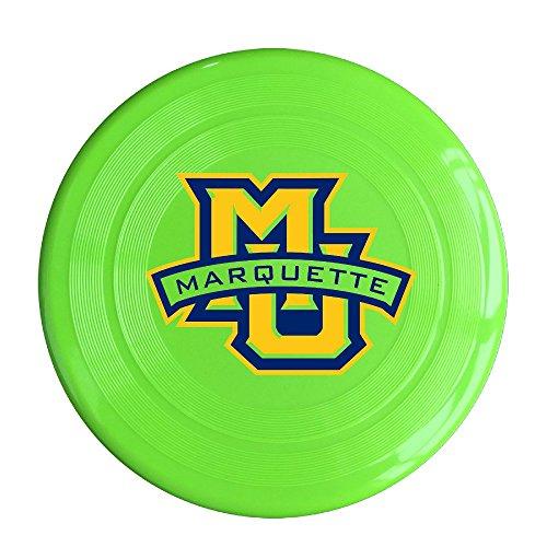 DETED Fashion Marquette MU Logo University Flying Disc - KellyGreen