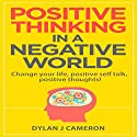 Positive Thinking in a Negative World: Change Your Life, Positive Self Talk, Positive Thoughts Audiobook by Dylan J Cameron Narrated by Forris Day Jr