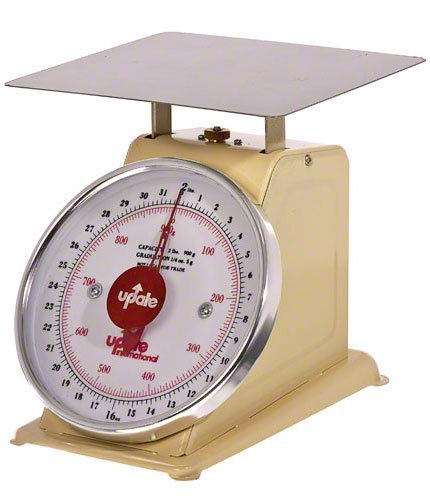 Update International (UP-72) 2 Lb Analog Portion Control - Portion Dial Scale Control