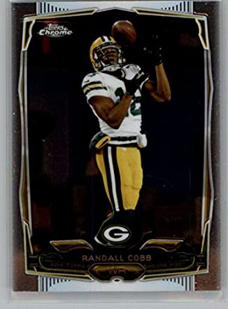 new arrival 91280 51f3c Amazon.com: 2014 Topps Chrome #7 Randall Cobb NM-MT Packers ...