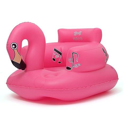 VERCART sofá Cama Inflado niño Silla Asiento para niño niña Flotador Flotador bebé niño Animal 50