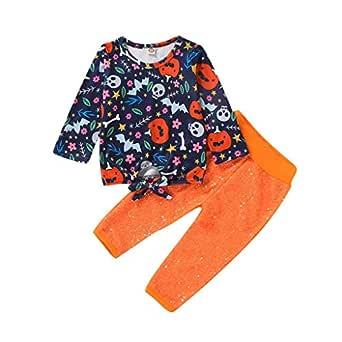 ZOREFINE 🤠 Conjunto de Halloween para Niños y Niñas, Camisa de ...