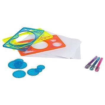 ColorBaby - Set de dibujo mosaicos/mandalas, 26 piezas (44096): Amazon.es: Juguetes y juegos