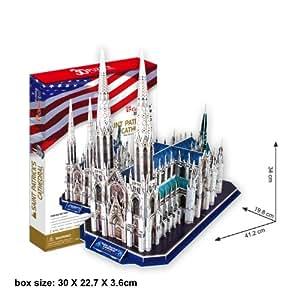 St.Patrick's Cathedral (New York) 3D Puzzle rompecabezas