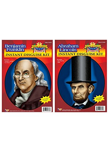 Abraham Lincoln And Benjamin Franklin Accessory Kits