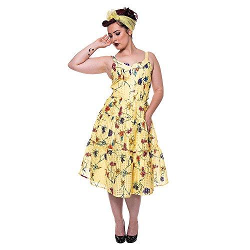 Voodoo Vixen -  Vestito  - linea ad a - Donna