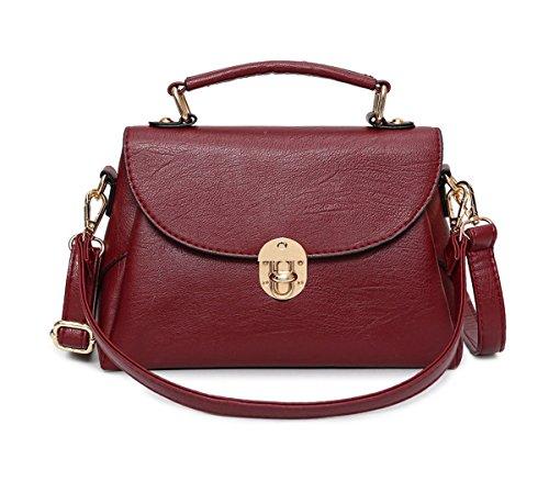 Mujer Shoppers y bolsos de hombro Bolsos bandolera Carteras de mano y clutches Burdeos