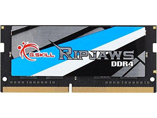 G.Skill Ripjaws Series 8GB 260-Pin DDR4 SO-DIMM DDR4 2400 (PC4 19200) Laptop Memory Model F4-2400C16S-8GRS ()