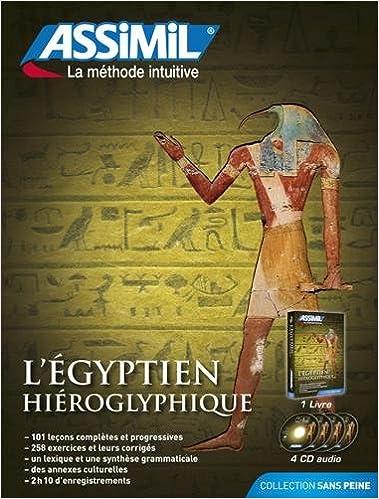 L'égyptien hiéroglyphique (4CD audio)
