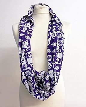 Infinity Loop Scarf Elvis Presley Montage Colour Lightweight Snood Cowl Gift