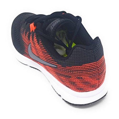 Nike Zoom Span 2 Noir / Mtlc Cool Gris Mens Taille 12 M