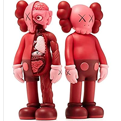 "15"" Prototype KAWS Original Fake Dissected Companion Model Art Toys Action Figure Collectible Model Toy 37cm (A&B): Garden & Outdoor"