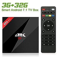 (Update Version)NewPal H96Pro+ Plus 3G DDR 32G EMMC 4K full loaded TV BOX Amologic 8 core 64 bit CPU 2.4G/5G WIFi tv box media player