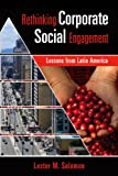 Rethinking Corporate Social Engagement, Lester M. Salamon, 1565493133