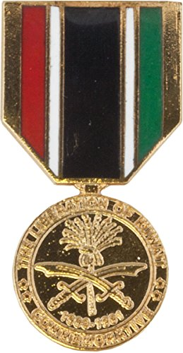 - Liberation Of Kuwait Medal Hat Pin