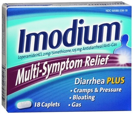 Imodium Advanced Multi-Symptom Relief Caplets 18 ea by Imodium