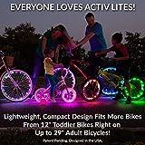 Active Life Bike Wheel Lights (2 Tires, Pink) Top