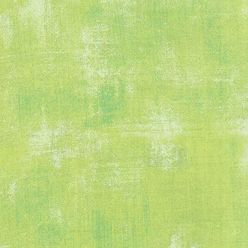 Moda Basic Grey Grunge Quilt FabricKey Lime Style 30150/303