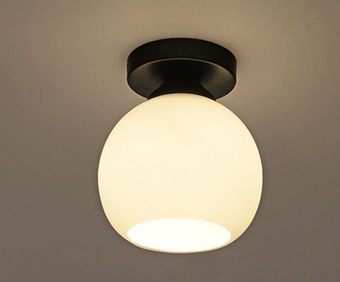 Plafoniere Soffitto Industrial : Cozyle vintage soffitto di vetro industrial style white light