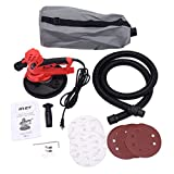 Goplus Electric Hand Held Drywall Sander 710W Variable Speed w/Vacuum, Dust Bag, Discs