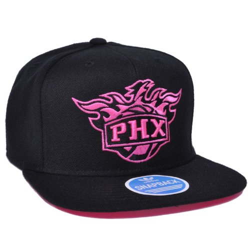 2dea722b2881c NBA Phoenix Suns Adidas Black and Pink Snapback Hat (Adjustable (Adult))