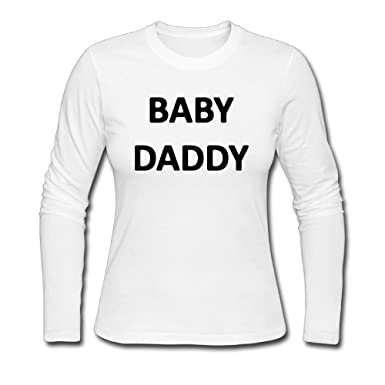 ba0581f7 Image Unavailable. Image not available for. Color: Fangner Funny Women Baby  Daddy Grandfather Father's Day Gift Long Sleeve T Shirt