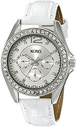 XOXO Women's XO3186 Rhinestone-Accented Watch
