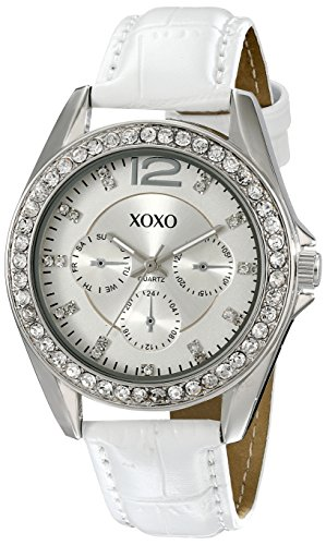 XOXO Women's XO3186 Rhinestone-Accented Watch