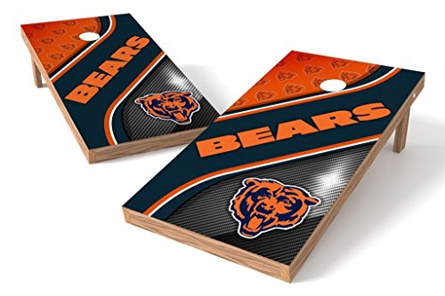 PROLINE NFL Chicago Bears 2'x4' Cornhole Board Set - Swirl Design