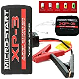 Antigravity Batteries Micro Start XP-3 400 Amp Lithium Portable 8000 mAh Car Jump Starter, Power Bank, Flashlight
