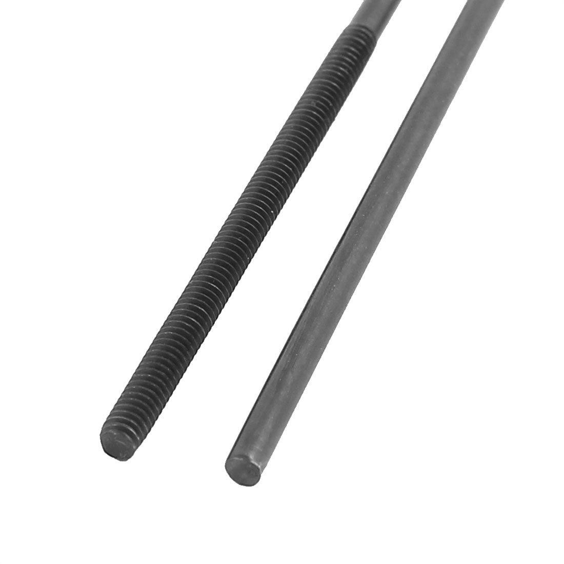 Eine Ende Gewinde 300mm L/änge Metall Schubstange RC Zubeh/ör DE de 2mm Dmr sourcing map 2Stk