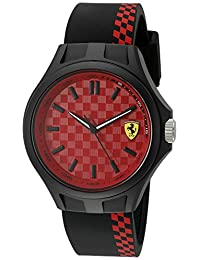 Ferrari Men's Quartz Multi Color Casual Watch (Model: 0830325)