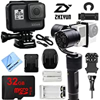 Zhiyun Evolution 3-Axis Handheld Gimbal Stabilizer with GoPro HERO5 Action Camera Kit